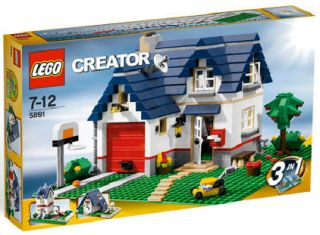 you are looking at lego creator apple tree house 5891 condition brand
