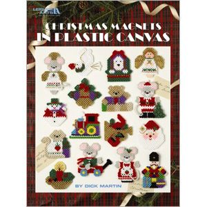 Christmas Fridge Magnets Cross Stitch Chart Pattern 16 Designs