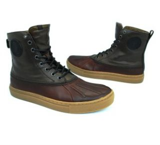 NEW KENNETH COLE REACTION HAVE A VISION BROWN CASUAL MENS BOOTS