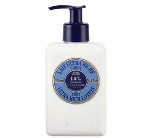 LOccitane Shea Butter Body Lotion, 8.4 oz —