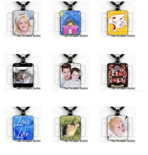Personalized Custom Baby Memorial Photo Picture Jewelry Charm Pendant