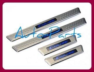 08   11 Chevy Cruze Stainless Steel LED Door Sill Sills Duel Tone