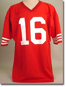 Joe Montana Craig Rice Clark Taylor Auto 49ers Authentic Joe Montana