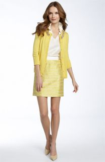 kate spade elizabeth cardigan, effie blouse & marsha skirt