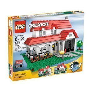Lego Creator House 4956 Build 3 Lego sets from 1 set Brand New Sealed