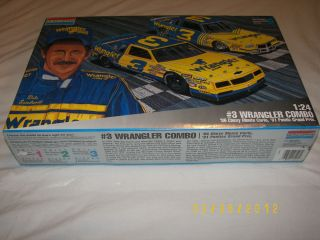 Monogram Dale Earnhardt Wrangler Combo Model Car Kit   Factory Sealed