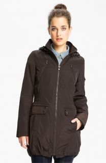 Laundry by Shelli Segal Anorak with Detachable Faux Fur Liner