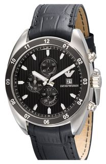 Emporio Armani Round Chronograph Watch