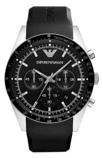 Emporio Armani Tachymeter Bezel Chronograph Watch