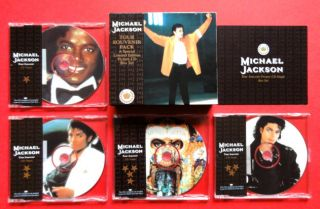 Michael Jackson Dangerous Tour Souvenir Singles Pack Very Limited 1992