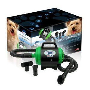 Bear Power Dryer High Velocity Pet Groom Dog Large Medium Small Breed