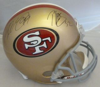 PATRICK WILLIS & ALDON SMITH AUTOGRAPHED SAN FRANCISCO 49ERS FULL SIZE