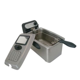Rongsheng 4 0L 1500W Electric Deep Fryer Fully Stainless Steel