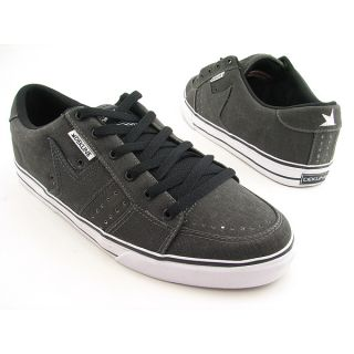 Dekline Paxton Mens Sz 9 Black Blk Wash Skate Shoes