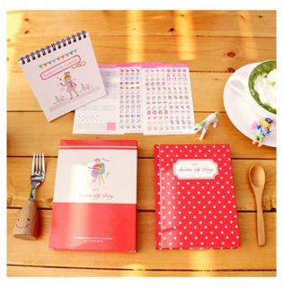 New Sunshine Delly Diary Daily planner for 2012 Case 2012Calendar