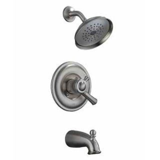 DELTA/PEERLESS FAUCET CO. 174902 SS LEWISTON SERIES TUB & SHOWER