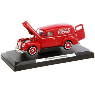 Cola Red Delivery Van Diecast Model Truck 1 24 Scale Die Cast