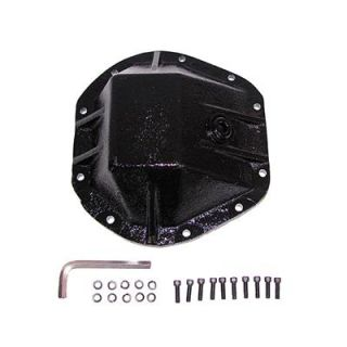 Rugged Ridge Heavy Duty Differential Cover Dana 44 Black Steel 1659544