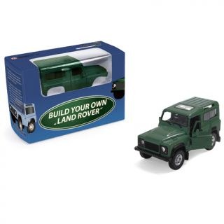 Land Rover Defender Build Your Own 1 36 Scale Model Kit Green