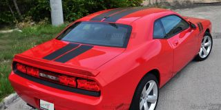 2008 Dodge Challenger Rally Stripes Decal Kit 2010 R T