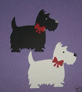 Dog Die Cuts   Scottie & Westie   Quickutz Sizzix