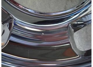 Dodge RAM 3500 Dually Hub Cap Wheel Cover Rim Chrome 17 Simulator Rear