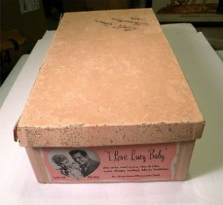 Love Lucy Lucille Ball Desi Arnaz Girl Doll Box 1950s