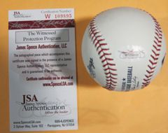 Don Mattingly Autographed Signed New York Yankees OML Baseball w 85