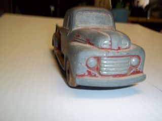 Vintage Ford Die Cast Metal Model Pickup Truck manufactured by