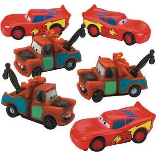 Disney Cars 2 Birthday Party Cake Toppers Decoration 6