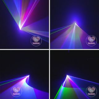 440mW RGB Laser Stage Lighting Scanner DJ Party Show Light