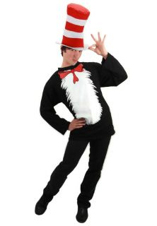 Dr Seuss Cat In The Hat Adult Costume
