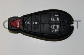 08 11 Dodge Remote Keyless Entry Fobik SmartKey G5
