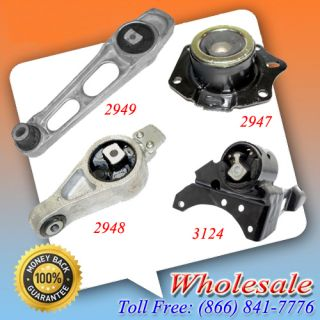 03 05 Dodge Neon 2.0L Auto Transmission & Engine Motor Mount 4PCS New
