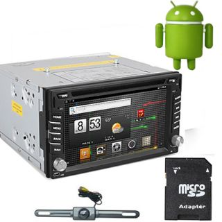 DIN Car Stereo GPS SAT Navigation CPU 1g Fastest Pure Android 3G