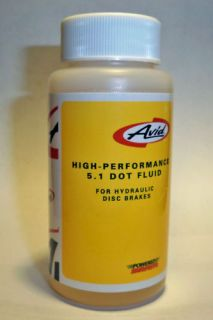 Pitstop Avid Hydraulic Disc Brake 5 1 Dot Fluid 4 Oz