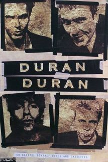Duran Duran 1993 Self Titled Wedding Album Promo Poster
