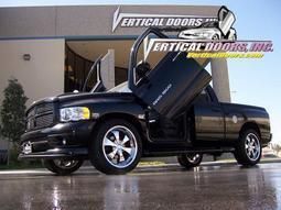 Dodge RAM Truck Bolt on Lambo Vertical Doors Kit 02 08 VDI Lambo Door
