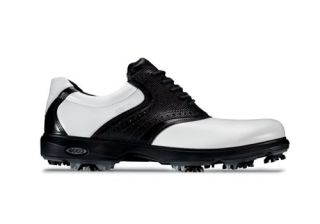 Ecco Golf Mens Classic Shoes #51222 White/Black