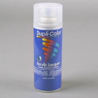 Dupli Color Paint Premium Lacquer Gloss Clear 12 oz Aerosol ea DAL1695