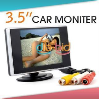 TFT LCD Car Rear View Color Camera Monitor DVD