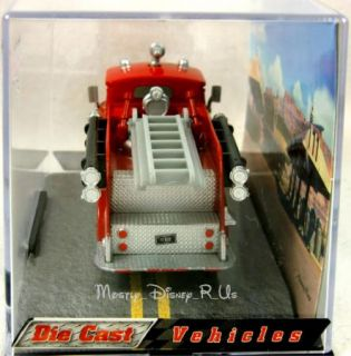 Cars 2 Red Fire Engine Diecast Collectors
