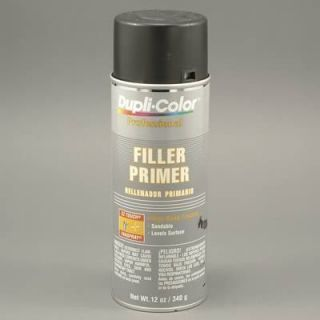 Dupli Color Paint Filler Primer Flat Black 12 oz Aerosol ea DPP106