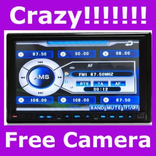Sale in Dash Car DVD TV Player GPS Navigation Camera