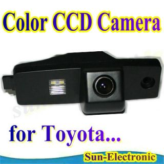 CCD Toyota Highlander Car Rear View Reverse Camera