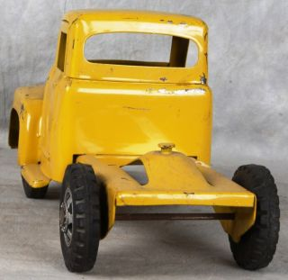 L450 Vintage Buddy L East Moline Pressed Steel Yellow Truck