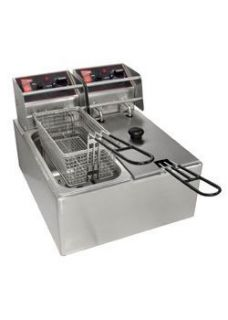 New Commercial Kitchen Countertop Electric Fryer 12 Lb
