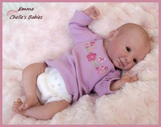 EMMA REBORN Mini Baby ~ Vinyl Doll Kit by Denise Pratt 10  Mini Doll