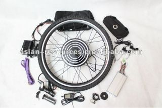 Ebike Conversion Kit Kits Front Wheel LCD SCREEN Electric Bicycle