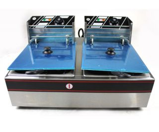 Tank Commercial Restaurant Countertop Electric Deep Fryer